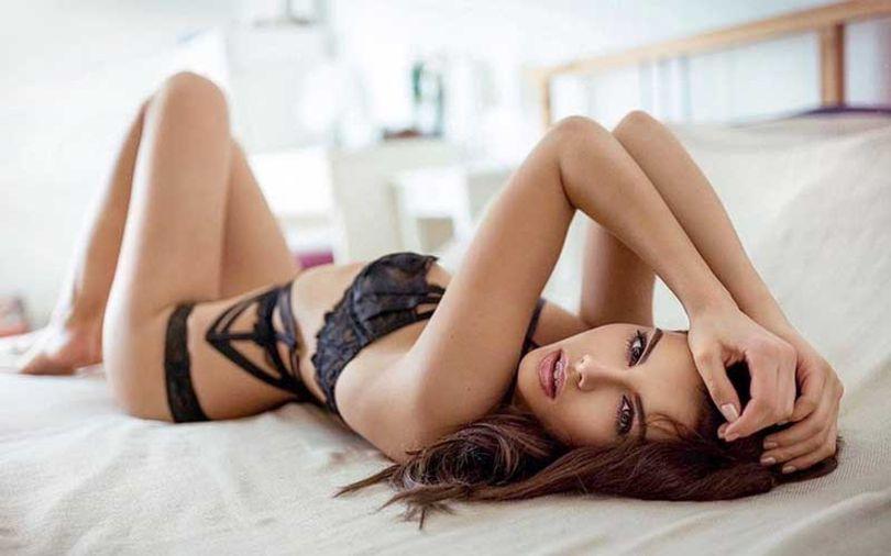 cute-german-woman-in-black-lingerie